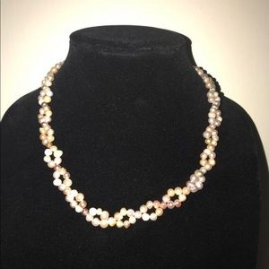 Jewelry - Freshwater pearl lavender necklace